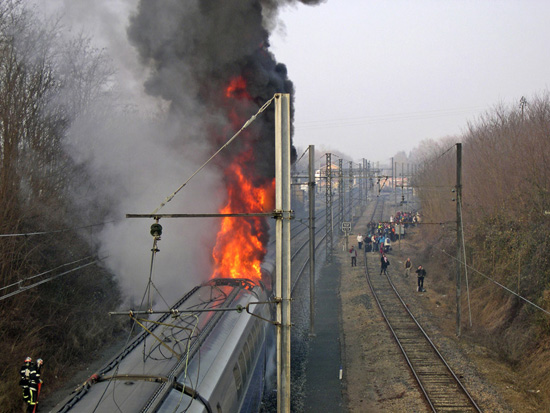 Incendie TGV