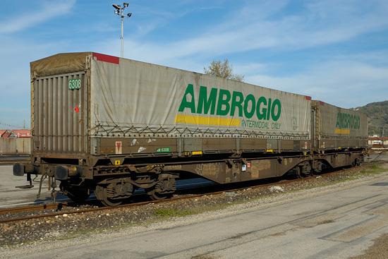 Wagon intermodal