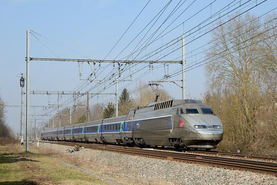 Rame TGV Sud Est