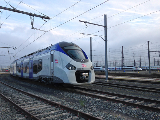 Une rame Alstom Régiolis - Photo @Conducteur_SNCF